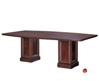 """Picture of 96"""" Boat Shape Veneer Conference Table"""