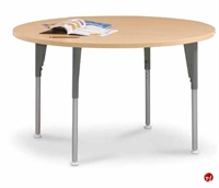 "Picture of Vanerum Acute, 48"" Round Adjustable Training Meeting Table"