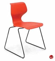 Picture of Vanerum Airley Poly Shell Armless Sled Base Stack Chair