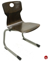 Picture of Vanerum Soliwood Armless Wood C Frame Stack Chair