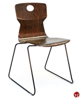 Picture of Vanerum Soliwood Armless Wood Sled Base Stack Chair