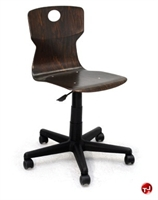 Picture of Vanerum Soliwood Armless Wood Swivel Chair
