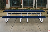 Picture of Webcoat Regal T10RC, 10' Metal Outdoor Picnic Bench Table
