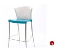 Picture of Westinnielsen Azuza Cafeteria Dining Armless Plastic Stack Stool Chair