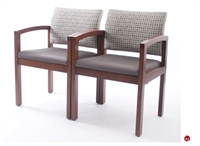 Picture of Westinnielsen Basico Reception Lounge 2 Seat Mobile Loveseat Chair