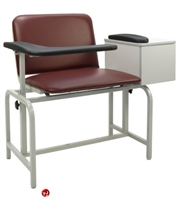 Picture of Winco 2574 Phlebotomy Blood Drawing Chair with Drawer