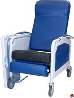 Picture of Winco 525S Convalescent Mobile Medical Recliner, Saddle Seat