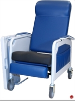 Picture of Winco 526S Convalescent Mobile Medical Recliner, Saddle Seat