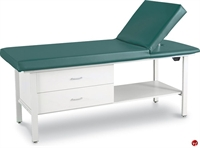 Picture of Winco 8570D1 Medical Treatment Table, Adjustable Backrest