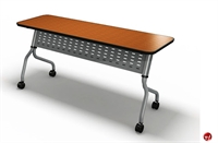 "Picture of 18"" X 66"" Mobile Flip Nesting Training Table"