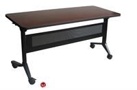"Picture of 24"" X 60"" Mobile Flip Top Nesting Training Table"