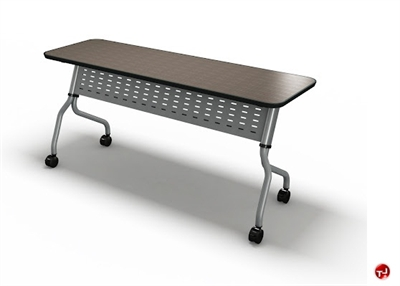 "Picture of 24"" X 66"" Mobile Flip Nesting Training Table"