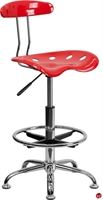 Picture of Brat Plastic Drafting Stool Chair