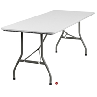 "Picture of Brato 30"" x 72"" Adjustable Plastic Folding Table"