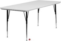 "Picture of Brato 30"" x 72"" Adjustable Plastic Folding Table"