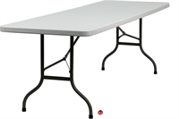 "Picture of Brato 30"" x 96"" Plastic Folding Table"