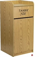 Picture of Brato 36 Gallon Wood Receptacle