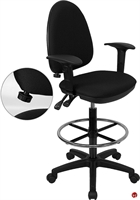 Picture of Brato Drafting Stool Chair with Arms