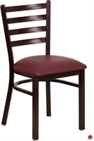 Picture of Brato Guest Side Dining Armless Metal Chair