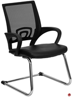 Picture of Brato Guest Side Reception Sled Base Mesh Chair
