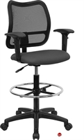 Picture of Brato Mesh Office Drafting Stool Chair