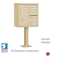 Picture of Brew Aluminum Mailbox Cluster Box, 8 Doors