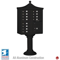 Picture of BREW Aluminum Mailbox Cluster Box, 12 Doors