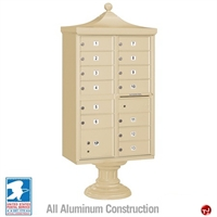 Picture of BREW Aluminum Mailbox Cluster Box, 13 Doors