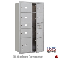 Picture of BREW Aluminum Mailbox Cluster Box, Front Loading