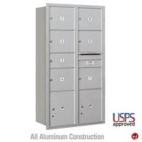 Picture of BREW Aluminum Mailbox Locker, Rear Loading
