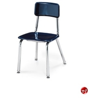Picture of AILE Armless Poly School Classroom Chair