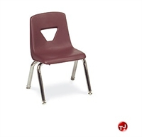 Picture of AILE Armless Poly Sled Stack Kids Chair