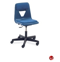 Picture of AILE Poly Shell Armless Swivel Task Chair