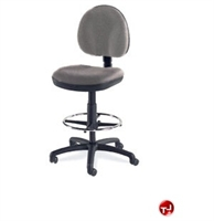 Picture of AILE Armless Swivel Task Stool Chair, Footring