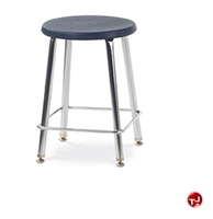 Picture of AILE Armless Stool, Plastic Seat