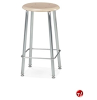 Picture of AILE Steel Frame Stool, Hard Plastic Seat
