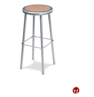 Picture of AILE Heavy Duty Backless Stool, Masonite Seat