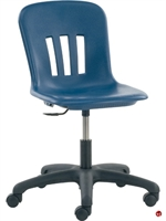 Picture of AILE Poly Shell Armless Task Swivel Office Chair