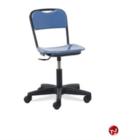 Picture of AILE Hard Plastic Armless Task Swivel Chair