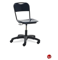 Picture of AILE Hard Plastic Armless Task Office Swivel Chair