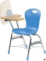 Picture of AILE Classroom Flip Top Tablet Arm Chair, Bookrack