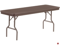 "Picture of AILE 24"" x 72"" Lightweight Folding Table"