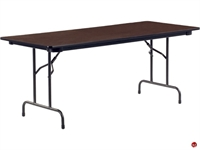 "Picture of AILE 30"" x 72"" Plywood Folding Table"