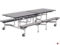 Picture of AILE Mobile Folding Cafeteria Kids Bench Table