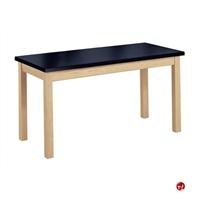 """Picture of AILE 24"""" x 60"""" Epoxy Top Multi Purpose Table"""