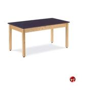 """Picture of AILE 30"""" x 60"""" Epoxy Top Multi Purpose Table"""