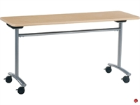 "Picture of AILE 20"" x 72"" Tilt Top Mobile Training Table"