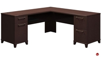 "Picture of Bush Enterprise 72"" x 72"" L Shape Office Desk Workstation"