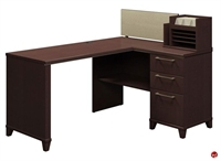 "Picture of Bush Enterprise 2999, 60"" L Shape Computer Desk Workstation"