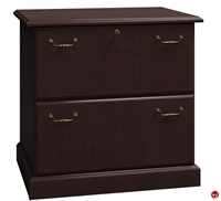 "Picture of ADES 30"" 2 Drawer Laminate Lateral File Cabinet"